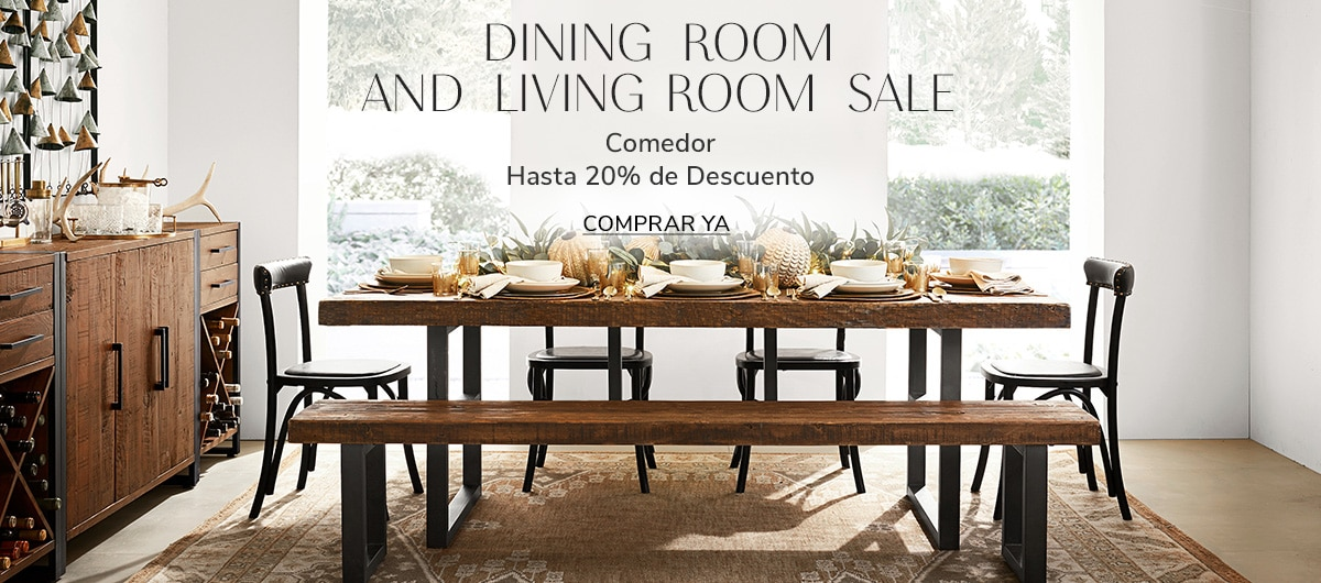 Dining Room and Living Room Sale | Pottery Barn